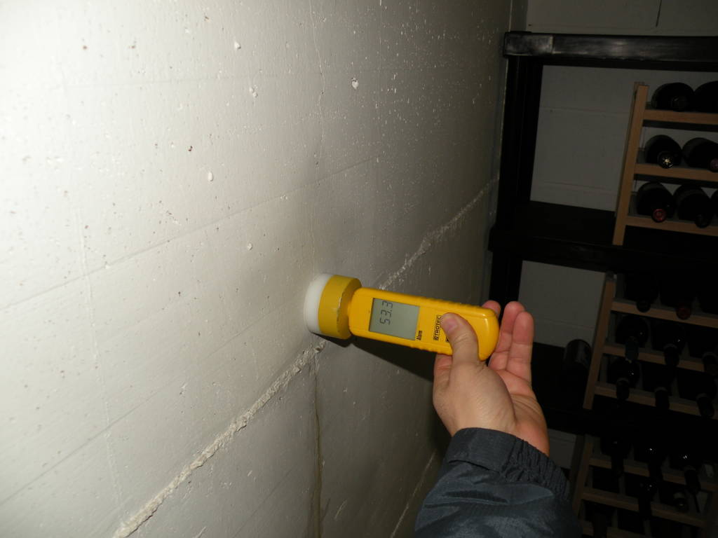Asciugatura locali interrati risanamento muffe e umidit - Umidita muri esterni casa ...